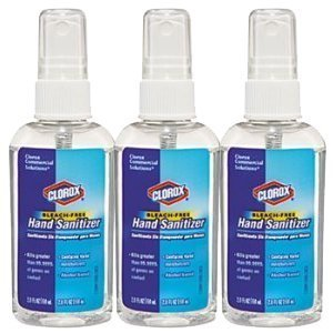 Clorox CLO 02174 Bleach-Free Hand Sanitizer, 2.0 FL OZ, Contains Hand Moisturizers, Alcohol-Based (3)