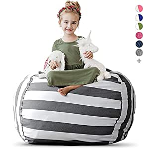 Fine Creative Qt Stuffed Animal Storage Bean Bag Chair Extra Large Stuff N Sit Organization For Kids Toy Storage Available In A Variety Of Sizes And Uwap Interior Chair Design Uwaporg