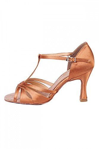 Electric Ladies' Shoes T Olivia Dance Tan Ballroom Bar qrRqExF