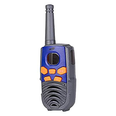 NERF 10 Mile Walkie Talkies Set 37756 | Delivers Transmission with 10 Mile Communication Range, Flexible Safety Antenna & Morse Code with On/Off Switch (Orange & Black): Toys & Games