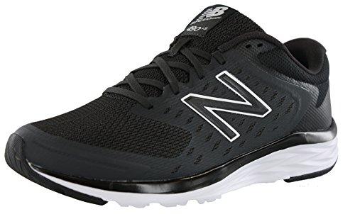 New Balance Men's 490v5 Running-Shoes, Black/Phantom, 12 4E US