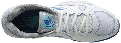 New Balance Chaussures De Tennis Wc1296 Stabilité Blanc / Bleu