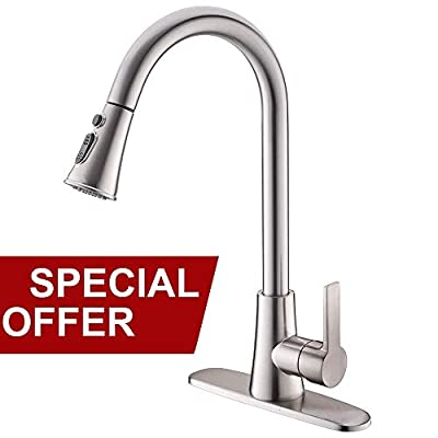 Pull Down BN Kitchen Faucet 01