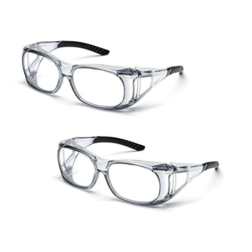 46db861eb1b Elvex SG-37C OVR-Spec II Over-The-Glass Protective Eyewear Safety ...