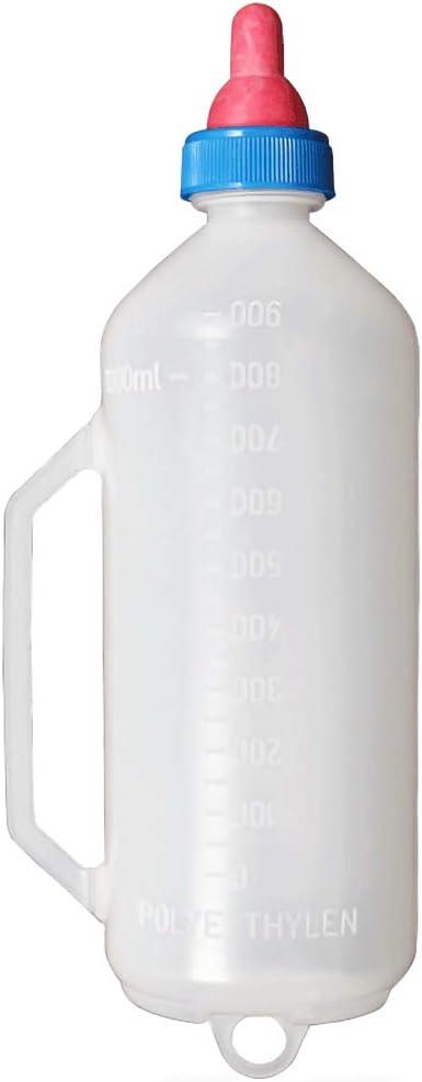 1.5L Luyao 1.5L Schaf Milch Flasche Handgehalten Plastik Schaf Milch Flasche Gummi Schnuller Flasche mit Ma/ßstab Schaf F/ütterung Equipment