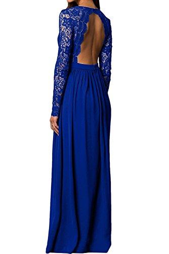para Vestido mujer 50 Topkleider trapecio azul qxP4E7fw