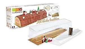 ScrapCooking 3700392419226 Christmas Yule Log Set