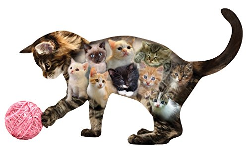 Miles Kimball Kitten Shaped Jigsaw