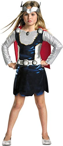 Disguise Costumes Girl's Thor, 3T-4T