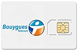 France Data SIM Card, Includes 1GB of Internet, Works Immediately! 500MB, 1GB, 3GB, and 7GB Upgrades Available! FREE VoIP Calls!
