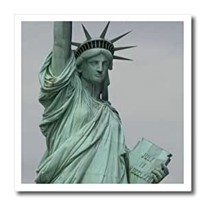 ht_59247_2 Lenas Photos - New York - The gracious Statue of Liberty overlooking her varied visitors - Iron on Heat Transfers - 6x6 Iron on Heat Transfer for White Material