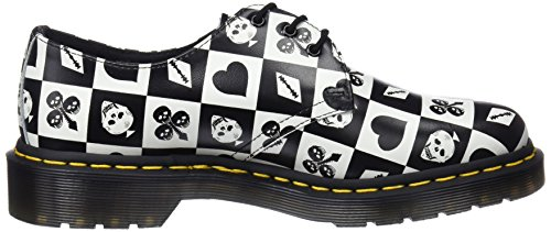 Varios Print Zapatos Martens Adulto 1461 Card Dr Cordones 112 Playing Unisex egret De Colores Derby O8qxRTEwR