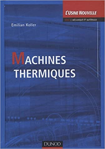 Livres Machines thermiques pdf ebook