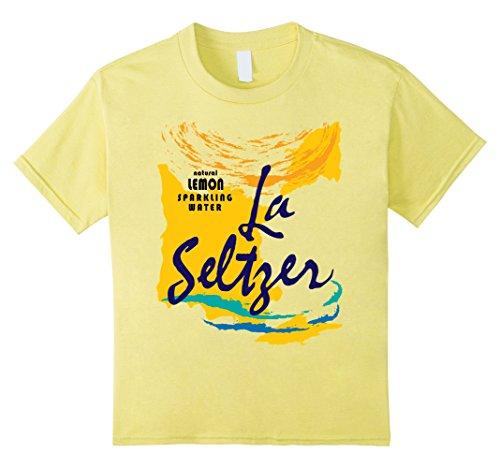 Kids Group Halloween Costume T-Shirt - Lemon Seltzer 12 Lemon