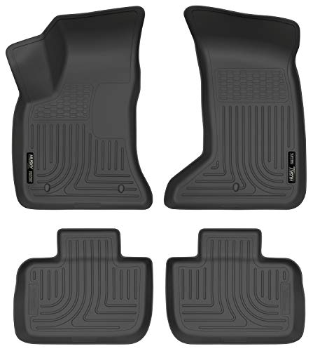 Husky Liners Front & 2nd Seat Floor Liners Fits 11-19 300/Charger AWD