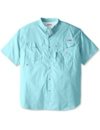 Men's Bonehead Short-Sleeve Work Shirt, Comfortable and...