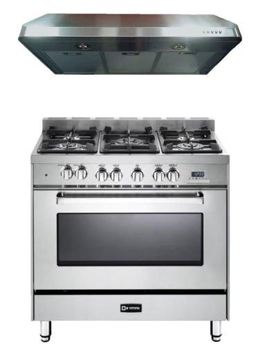 Verona Stainless Steel Kitchen Package VEFSGE365NSS 36