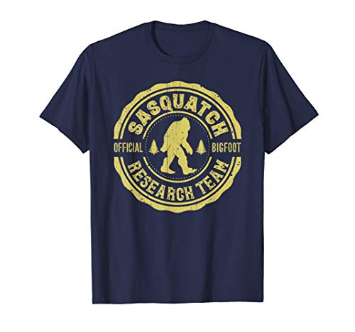 Bigfoot Shirt Finding Sasquatch Research Team Men Women Kids -