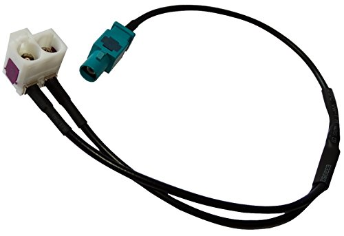 Aerzetix: Auto Car Antenna Cable Connector FAKRA RNS-E Adapter: