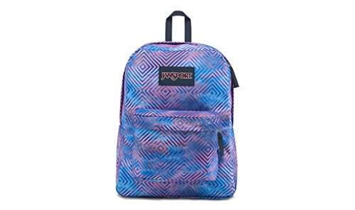 JanSport Unisex Superbreak Classic Ultralight Backpack Optical Clouds by JanSport