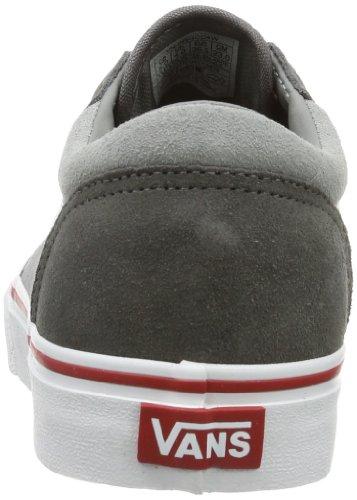 Vans Y MILTON  (SUEDE CANVAS) - Caña baja de cuero infantil gris - Grau ((Suede Canvas))