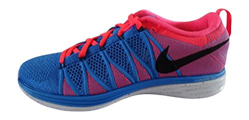 Nike Men's Flyknit Lunar2 Photo Blue Black Hyper Punch 402 EAzSoHy