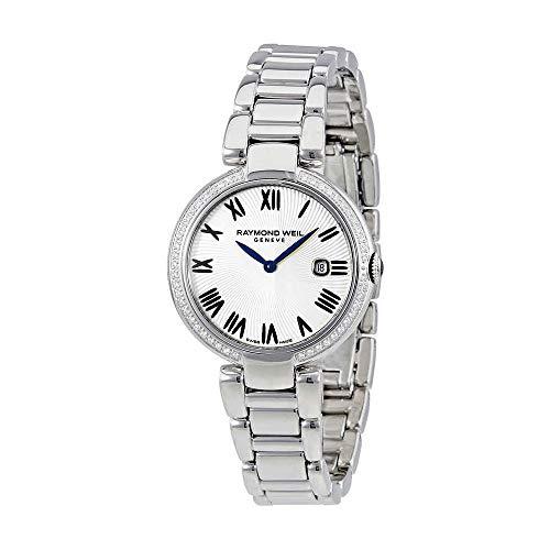 - Raymond Weil Shine Silver Dial Diamond Ladies Watch 1600-STS-00659