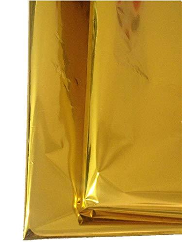 Mylar Embroidery Sheets, Gold Mylar, 20 X 27-inch,