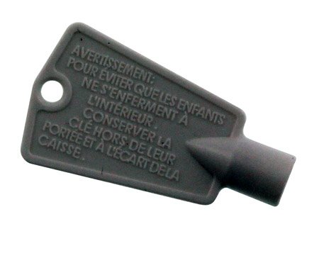 Frigidaire Freezer Key Shape 2pack