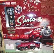 Toymaker Santa Lionel Train Set w/remote.. Hallmark very Limited Edition