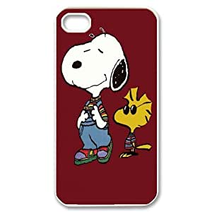 [QiongMai Phone Case] For Iphone 4 4S case cover -Funny Snoopy-Case 3