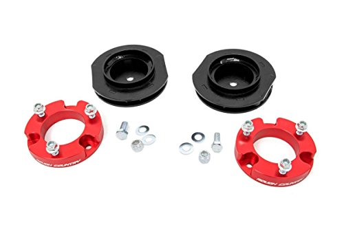 Rough Country 2-inch Suspension Lift Kit for Toyota: 07-14 FJ Cruiser 4WD (Anodized (Fj Cruiser Suspension Lift)