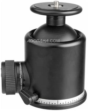 Supports 132 lbs Arca Swiss Monoball Z1 SP Single Pan with 1//4-20 Screw