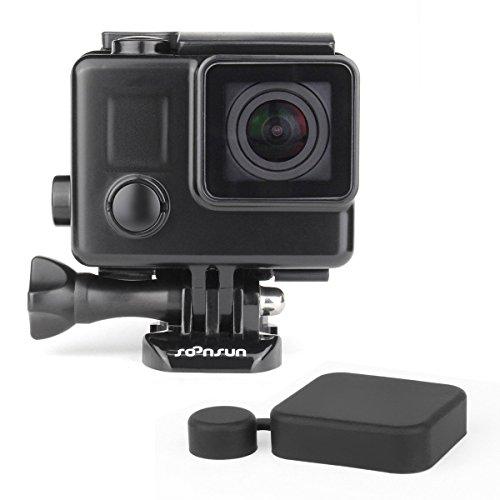 SOONSUN Blackout Waterproof Housing Case for GoPro Hero4 Hero3+ Hero 4 3 Camera - 35 Meters Underwater Photography