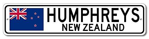 New Humphreys Corner - The Lizton Sign Shop Humphreys, New Zealand Aluminum New Zealanders, Kiwi Flag Sign, New Zealand Custom Flag Sign - 4