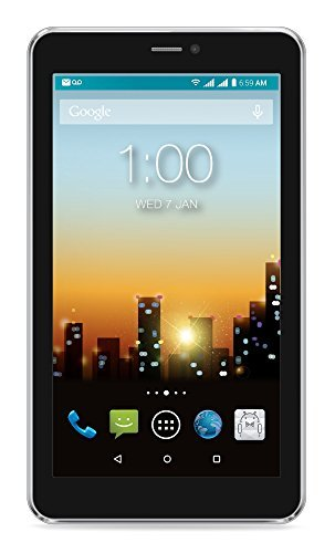 """Price comparison product image POSH Mobile Equal Plus X700 Unlocked Cell Phone 7"""" Dual SIM Smartphone with Front and Rear Camera Android 6.0 Phablet Phone with 16GB Storage and Super Slim HD Display (X700 Silver)"""