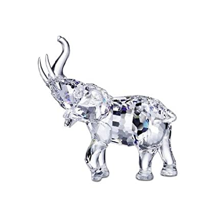 7202e9a21ad Image Unavailable. Image not available for. Color: Swarovski Crystal Mother  Elephant 678945