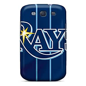 DannyLCHEUNG Samsung Galaxy S3 Bumper Hard Phone Cases Provide Private Custom Colorful Tampa Bay Rays Series [dSI15957AYaQ]