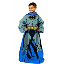 """Batman, Being Batman Youth Comfy Throw with Sleeves, 48"""" x 48"""""""