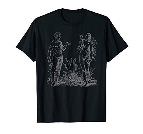 Adam and Eve Garden of Eden Religious Christian Faith T-Shirt]()