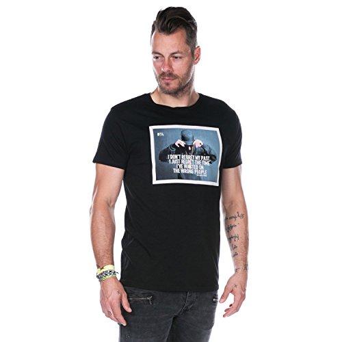 Deeluxe Herren T-Shirt schwarz schwarz