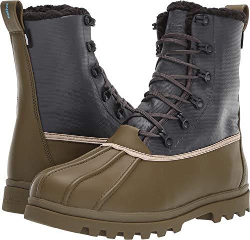 Native Shoes Unisex Jimmy 3.0 Treklite Utili Green/Onyx Black 8 Women / 6 Men M US (Jimmy Native Shoes Boots)