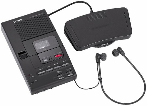 Sony M2000A Microcassette Transcribing Machine by Sony