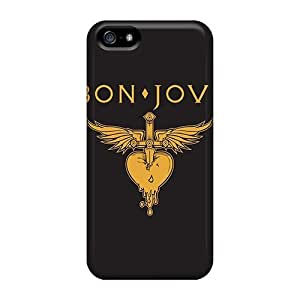 Waterdrop Snap-on Bon Jovi Cases For Iphone 5/5s