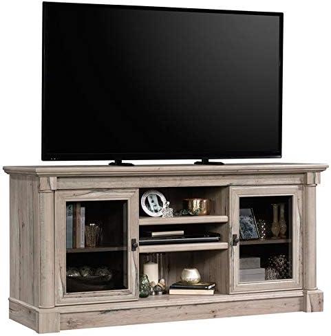 Sauder Palladia Contemporary Wood 60 TV Stand in Split Oak