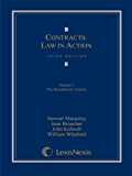 Contracts: Law in Action: Volume I: The Introductory Course: 1