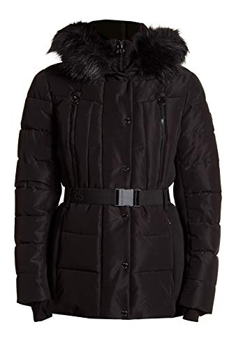 MICHAEL Michael Kors Mixed-Media Hooded Puffer Coat (M) ()