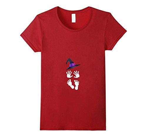 Pregnant Halloween Costume Baby Skeleton Pregnancy T-shirt