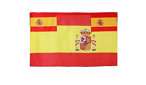 Atosa - B-Solapa/ Bandera españa 135x80 cm: Amazon.es: Juguetes y juegos