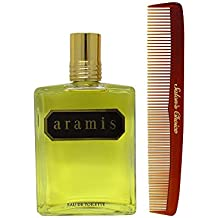 Bundle-2 Items : Aramis Eau de Toilette For Him, 8.1 Oz & Salon's Choice Barber Comb